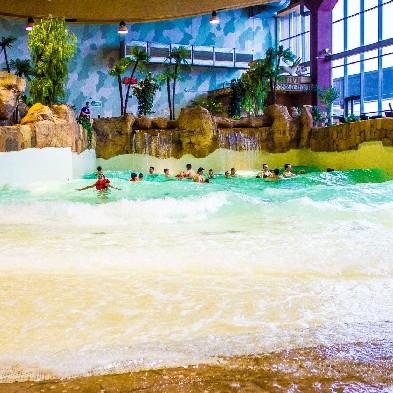 Аквапарк Уфа - Волновой бассейн и Relax-бассейны